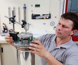 New product testing: Check valve